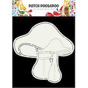 Dutch Doobadoo MDF Shapes 5pcs Mini Bunting Flags #440004