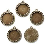 3pcs 32mm x  85mm Buddly Crafts Antique Bronze Metal Keys
