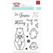 The greeting farm clear stamps buddly crafts the greeting farm clear stamps set let it snow clls22 m4hsunfo