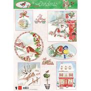 Els Forest Dream 1 EWK1262 Marianne Design A4 Cardtoppers Cutting Sheet