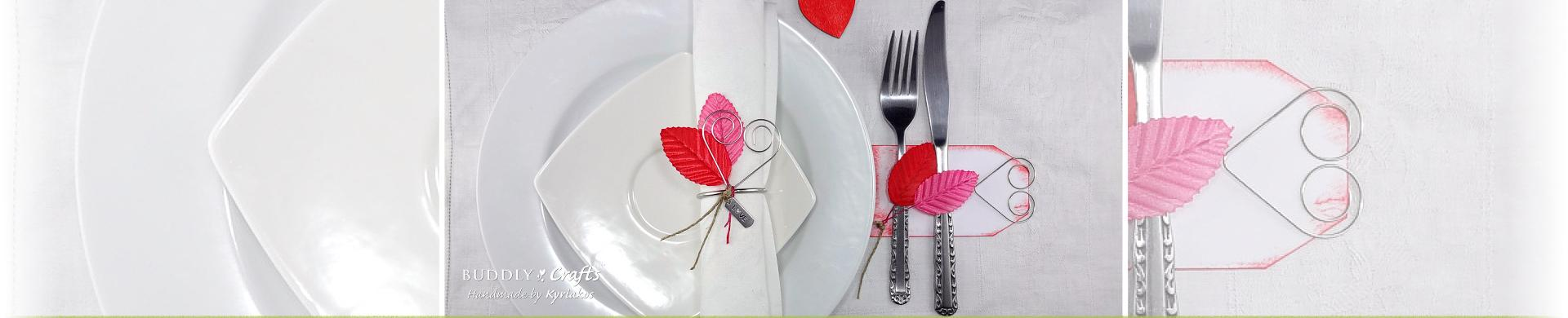 Valentine & Wedding Day Table Decorations