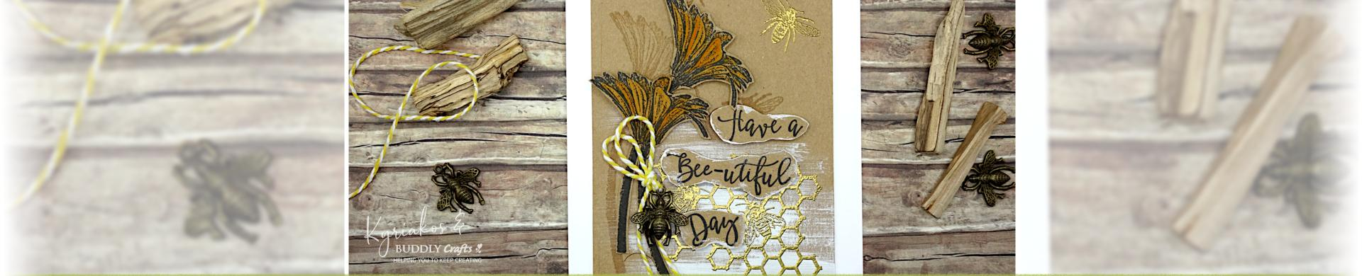 Flowers & Bees Card