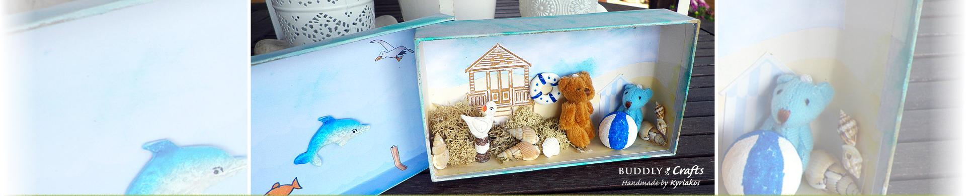 Tiny Teddies Beach Playset to Make