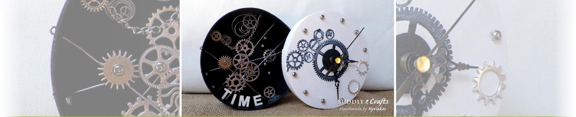 Industrial Style Clock to Make