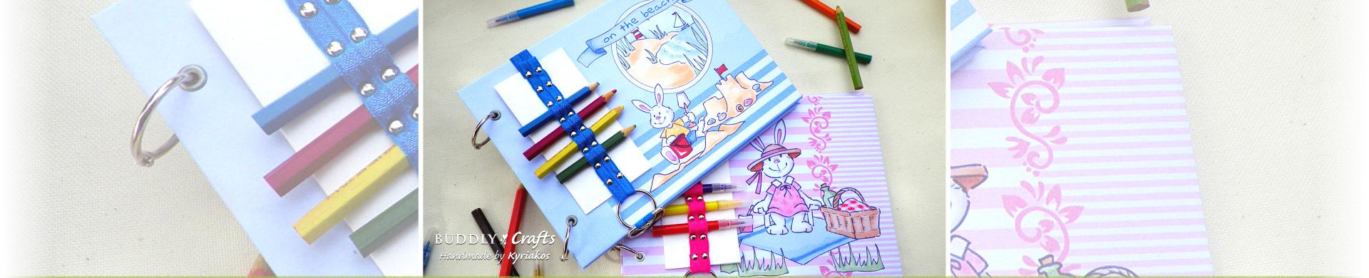 How to Make A Personalised Colouring & Activities Journal Book