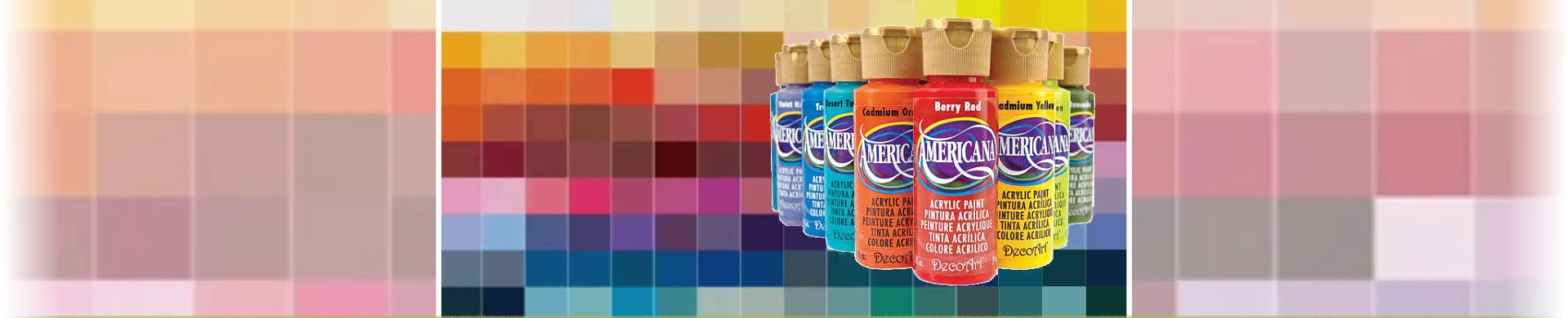 DecoArt Americana Discontinued Colours & How to Mix Your Own
