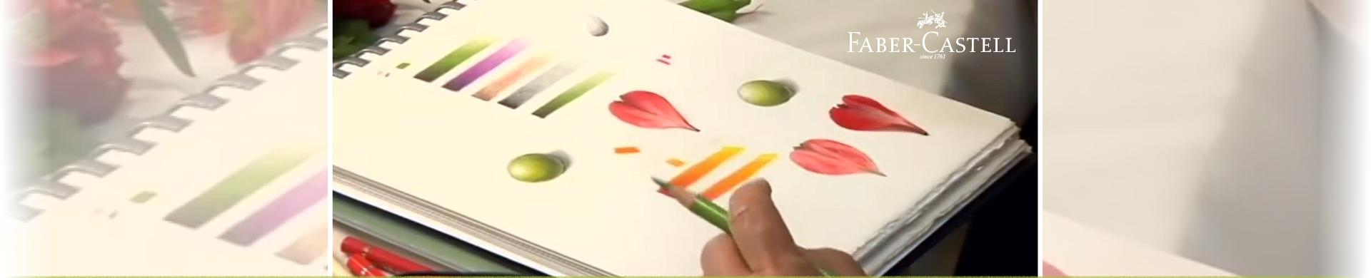 Tips for Colouring with Faber-Castell Polychromos Pencils
