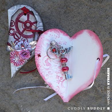 His & Her Valentine Key Rings Tutorial
