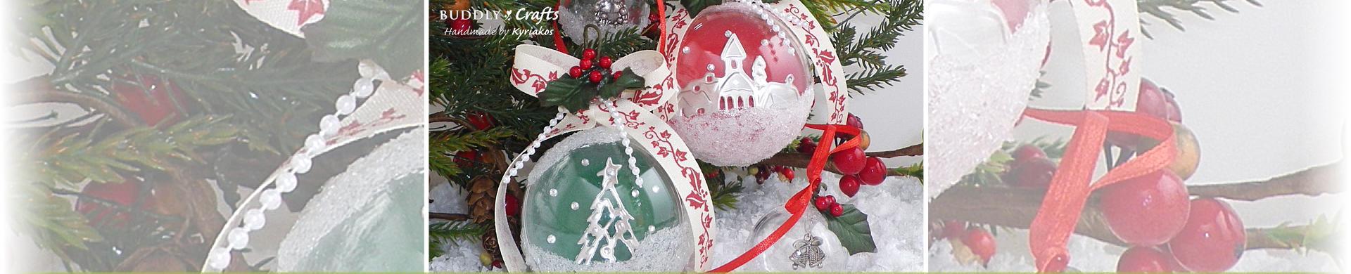 Christmas Tree Baubles Tutorial