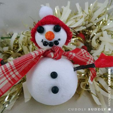 Snowman Tree Decoration Tutorial