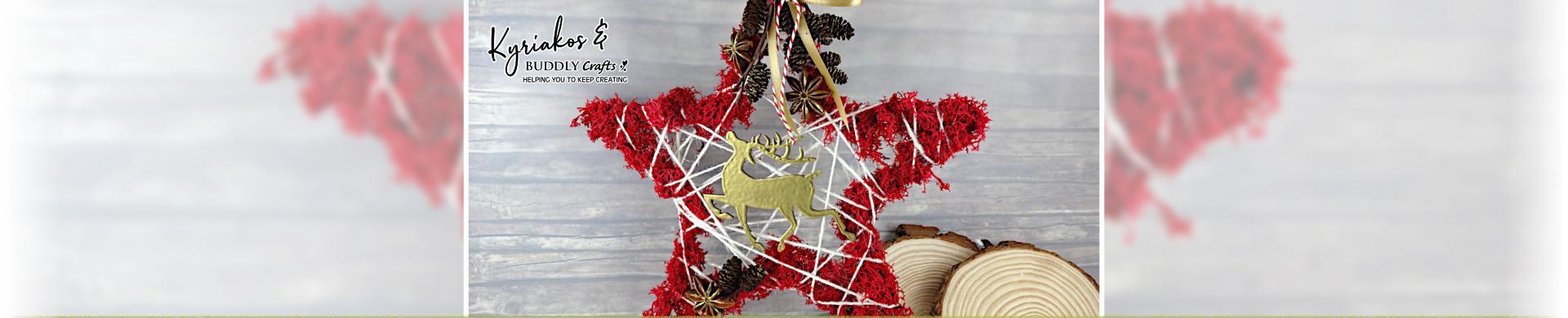 Christ-Moss Star Decoration