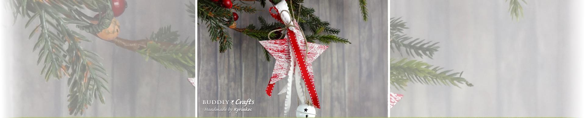 Jingle Star Christmas Tree Decoration