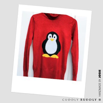 Cute Christmas Handmade Sweater Tutorial
