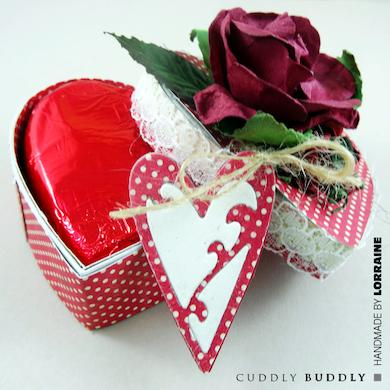 Valentine's Chocolate Box Tutorial