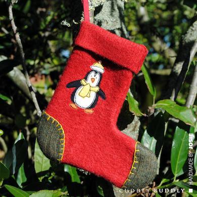 Christmas Penguin Stocking Tutorial