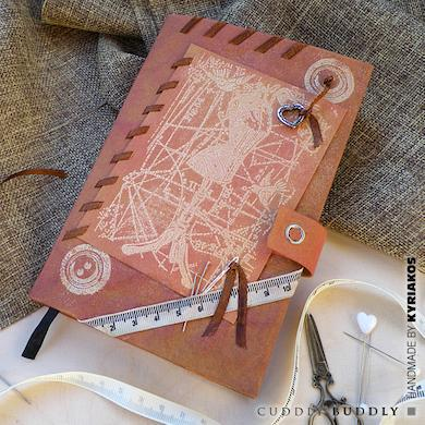 Make A Notebook Cover with Kraft-Tex