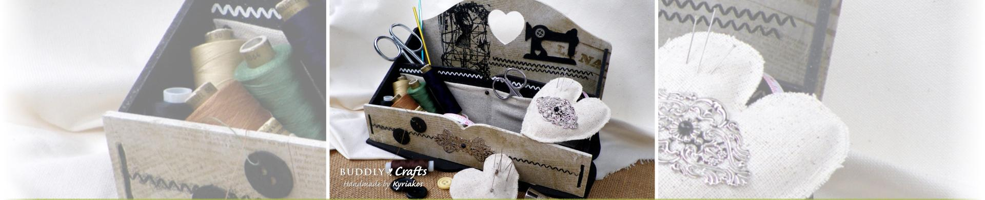 Make your own MDF Sewing Storage Box
