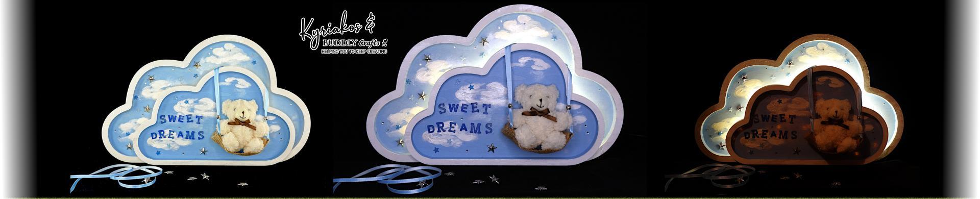 Sweet Dreams Nursery Night Light