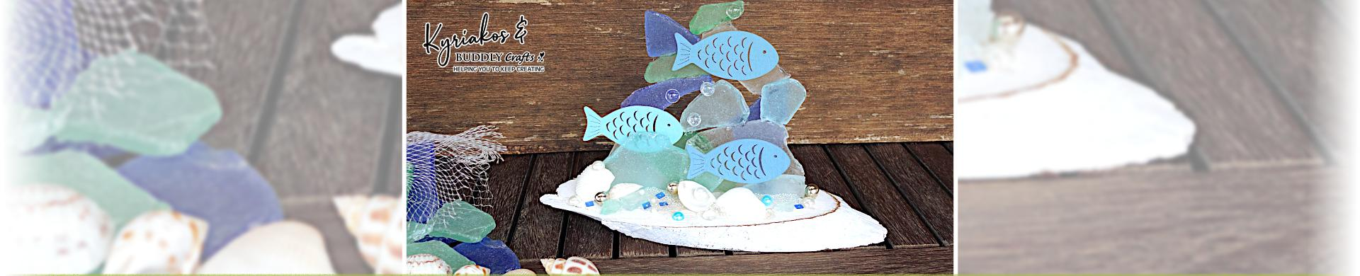 Under the Sea Glass Decoration