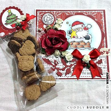 Christmas Cookie Bag Tutorial