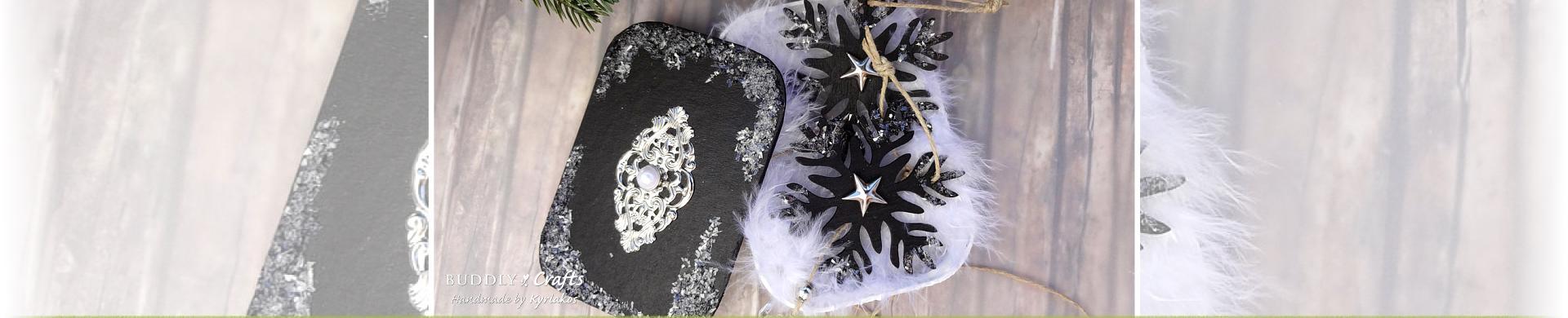 Make Wooden Snowflake Ornaments & Gift Tin