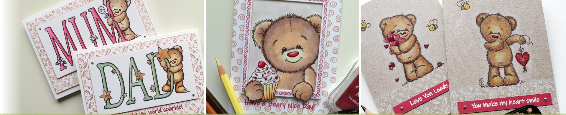 Brumblewick Bears Clear Stamps