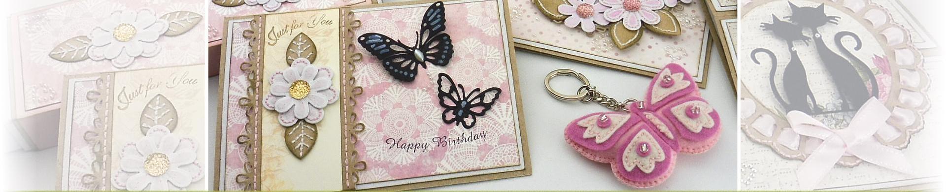 Cutting Dies - Birds & Butterflies
