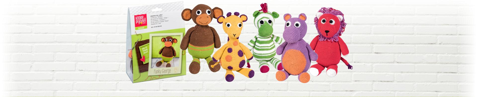 Soft Toy Crochet Kits