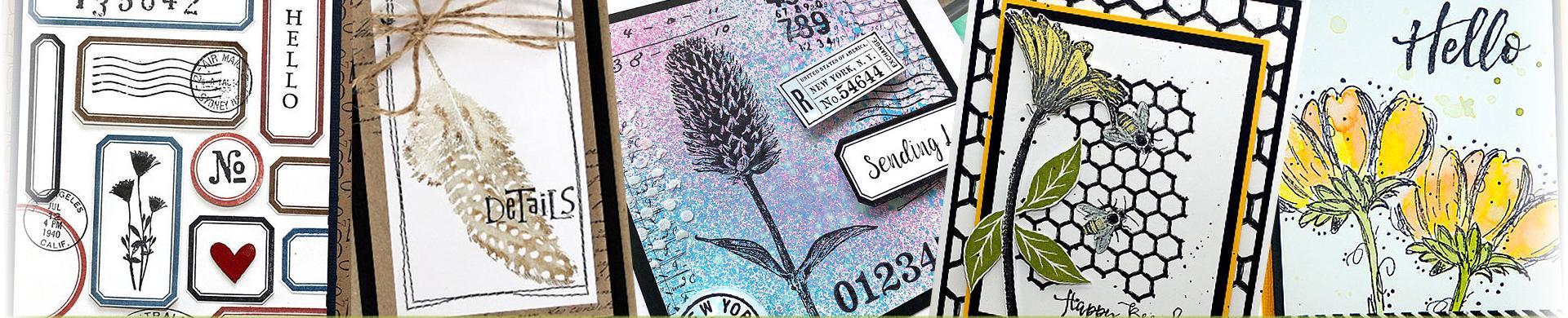 Darkroom Door Rubber Stamps - Sets