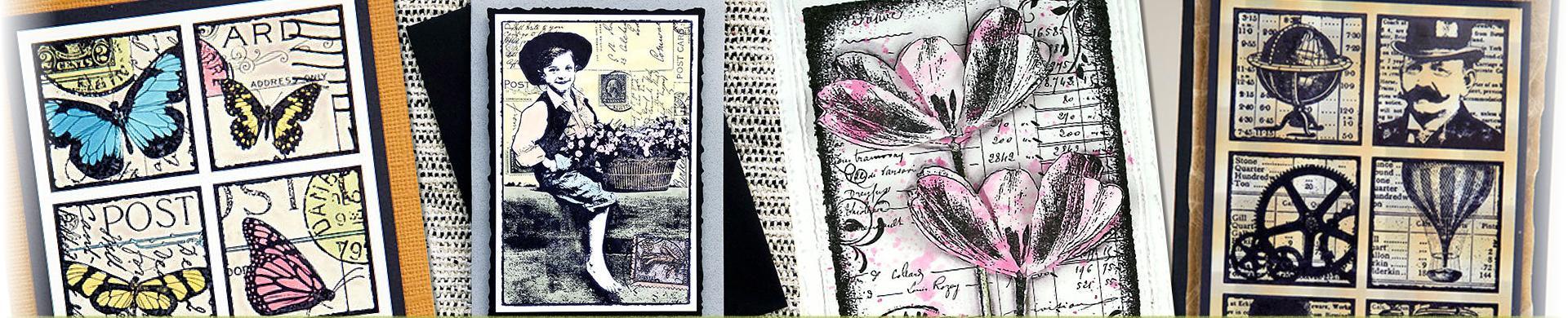 Darkroom Door Rubber Stamps - Photo, Collage & Eclectic