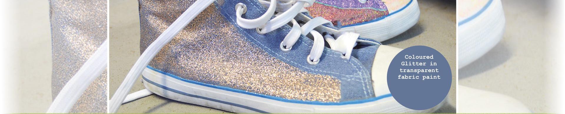 Fashion-Tex Glitter Fabric Paint