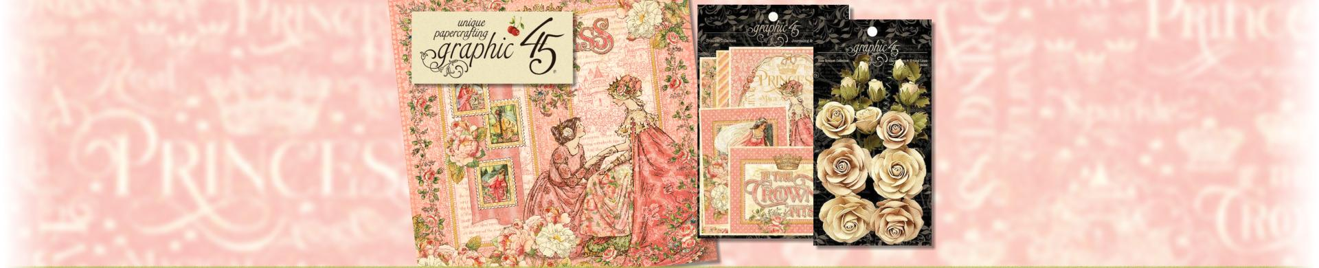 "Graphic 45 12/""x12/"" Cardstock Stickers Garden Goddess G4501758"