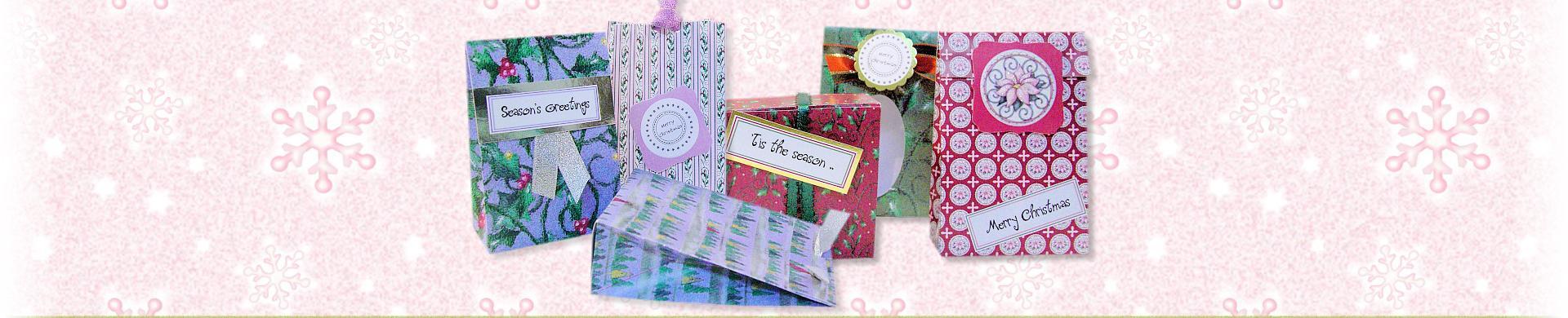 Printable Gift Boxes & Bags