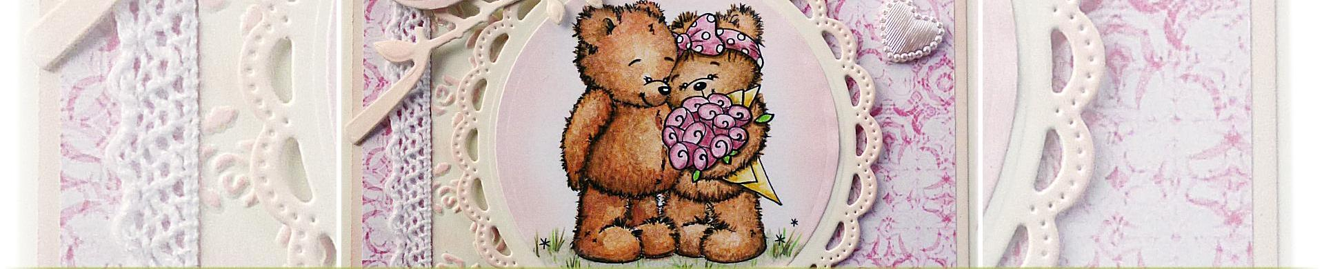 Teddy Bear Digital Stamps