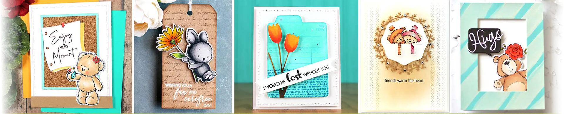 Penny Black Cutting Dies - Labels, Tags & More