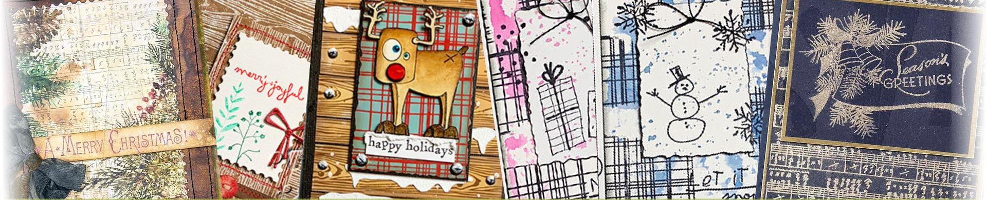 Tim Holtz Rubber Stamps - Backgrounds