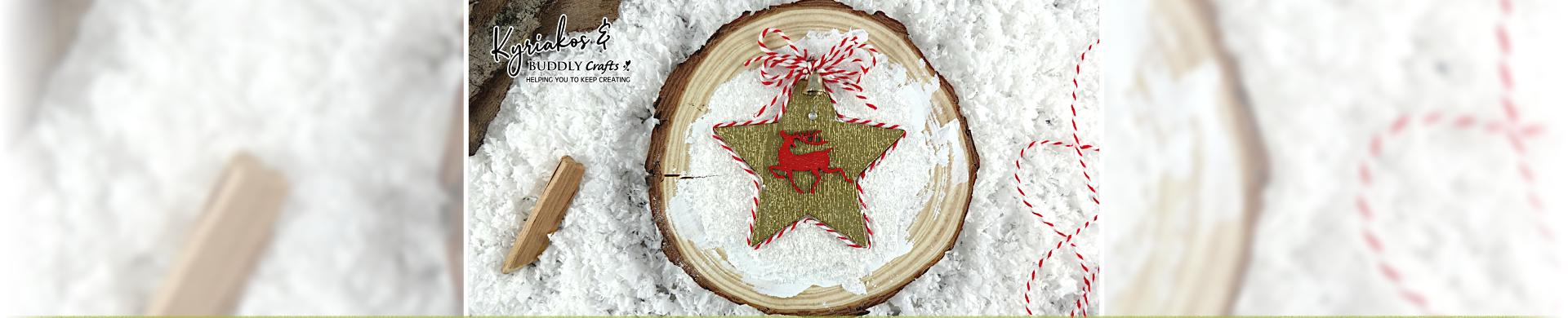 Bare Wood Christmas Shapes & Hangers