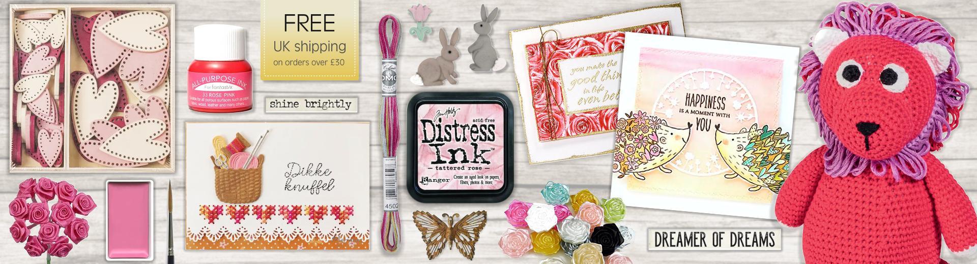 Card Making, Mixed Media & Needle Art Supplies