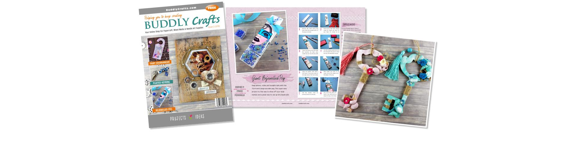 Papercraft, Mixed Media & Needle Art Supplies