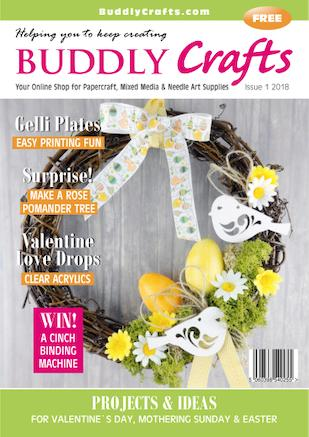 Cover of Buddly Crafts Magazine #1 2018