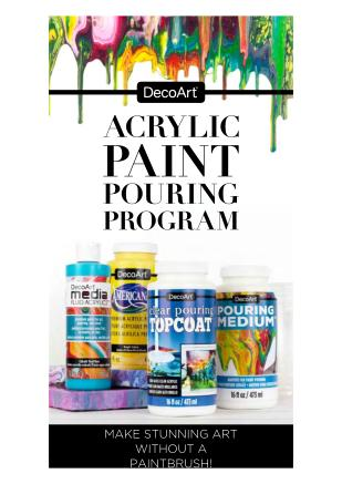 Cover of Acrylic Paint Pouring Brochure