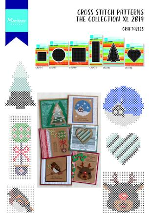 Cover of Marianne Design Cross Stitch #10