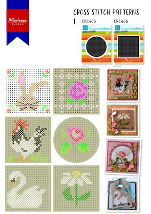 Cover of Marianne Design Cross Stitch #1