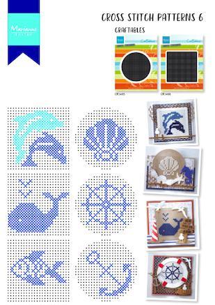 Cover of Marianne Design Cross Stitch #6