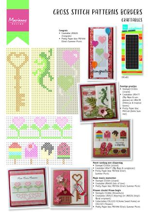 Cover of Marianne Design Cross Stitch #8