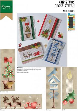 Cover of Christmas Cross Stitch CR1473