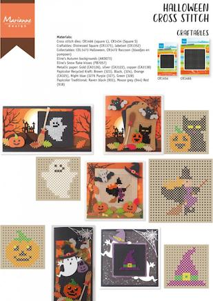 Cover of Marianne's Halloween X-Stitch