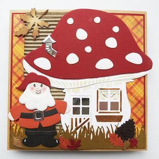 Elf & Mushroom House