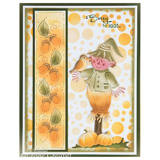 Autumn Scarecrow Card