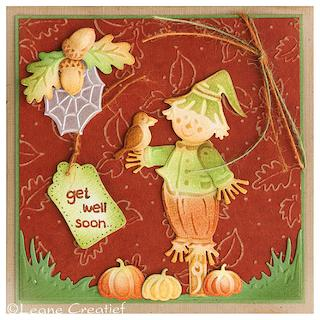 Cute Scarecrow Card